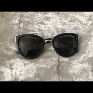 Quay Australia Honey 55mm Cat Eye Sunglasses